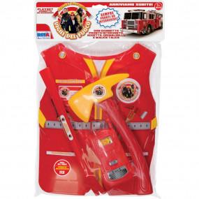 Giubbetto Rigido con Accessori Pompieri