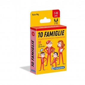 10 fsmiglie gioco di carte