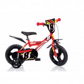 """Bicicletta dino bimbo 12"""" freno anteriore 123GLN"""