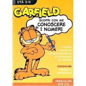 PC Garfield - Conoscere i numeri 3-4 anni