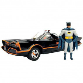 Batmobile 1966 1/24 die cast con personaggi