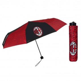 Ombrello mini manuale ufficiale AC Milan rossonero.