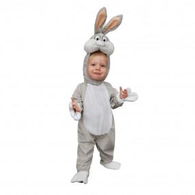 Bugs bunny costume 2/3 anni
