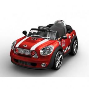 Auto Mini coupè rossa Elettrica RC