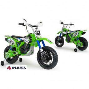 Moto cross Kawasaki batteria 12V