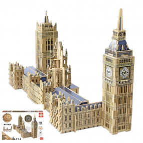 Big ben e Westminster puzzle in legno