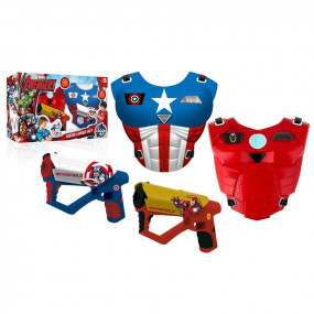 Avengers mega laser set con luci e suoni
