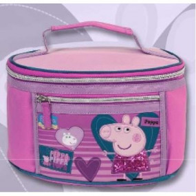 Beauty case Peppa Pig glitter
