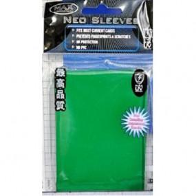 Busta 60 proteggi carte verde scuro