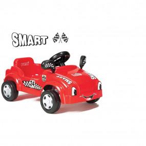 Auto rossa a pedali
