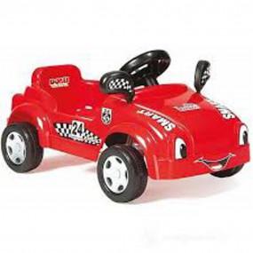 Auto a pedali rossa
