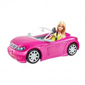 Auto Barbie Glam Cabrio con bambola