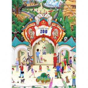 """Album da colorare """"Crea il tuo Zoo"""""""