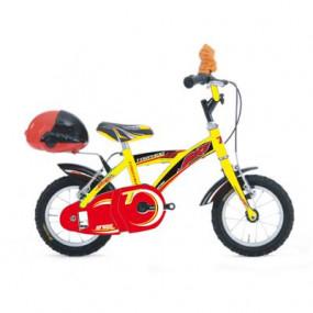 Bicicletta Geko gialla bimbo 690 MTB12