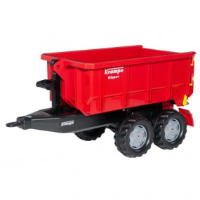 Rimorchio rollycontainer Krampe rosso