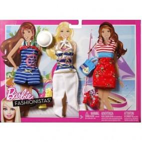 Barbie - Vestiti Tanti Look In Barca