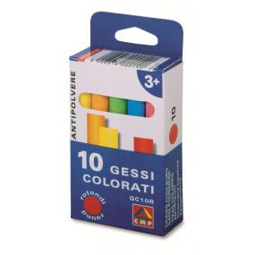 10 gessetti colorati