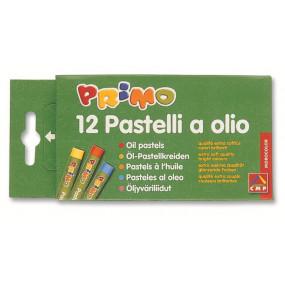 12 pastelli a olio