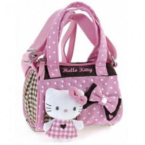 Bauletto con tracolla Pink Brown Hello Kitty