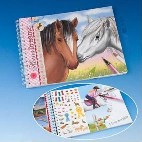 Album da colorare Horses