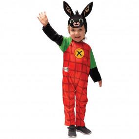 Bing bunny costume 4/5 anni
