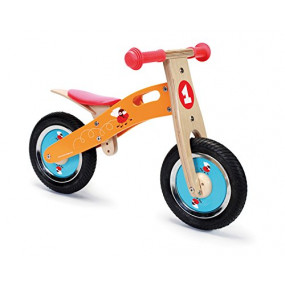 Bici pedagogica in legno racing flies