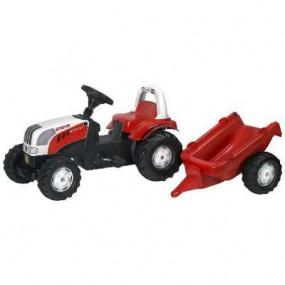 012510 Steyr 6190 CVT con rimorchio Rolly Toys