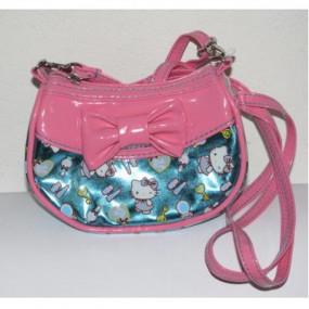 Borsa tracollina Pink Blue Hello Kitty