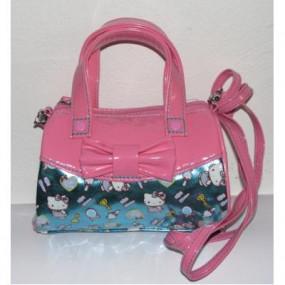 Borsa bauletto tracolla Pink Blue Hello Kitty