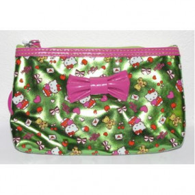 Pochette Fucsia Green Hello Kitty
