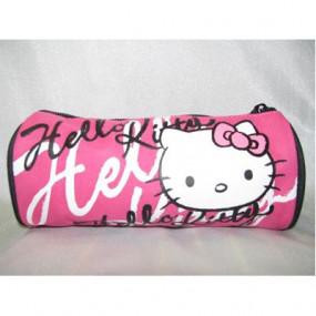 Astuccio nero e fucsia Hello Kitty