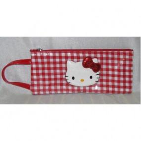Busta allungata con maniglia Lolly Red Hello Kitty