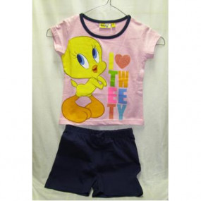 Completino Titti T-shirt+pantaloncini Tg. 3 anni