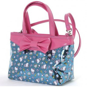 Borsa tracolla Pink Blue Hello Kitty
