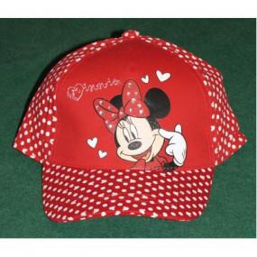 Cappellino Minnie rosso
