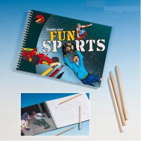 Album crea e colora il tuo sport